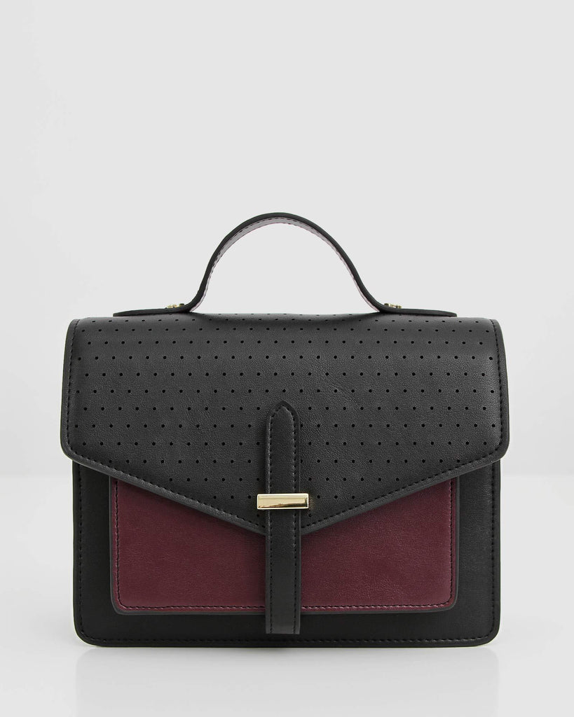 black-and-maroon-leather-bag-withp-perforated-leather-flap.jpg