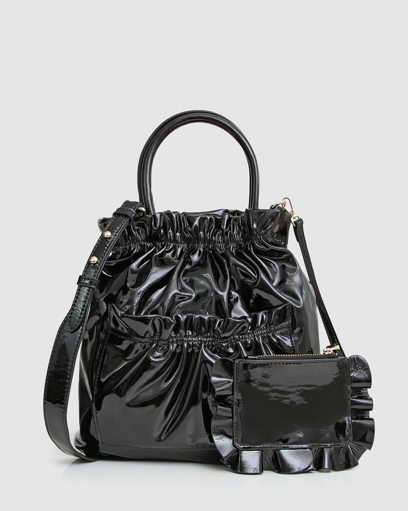 Boy Crasher Mini Tote - Black