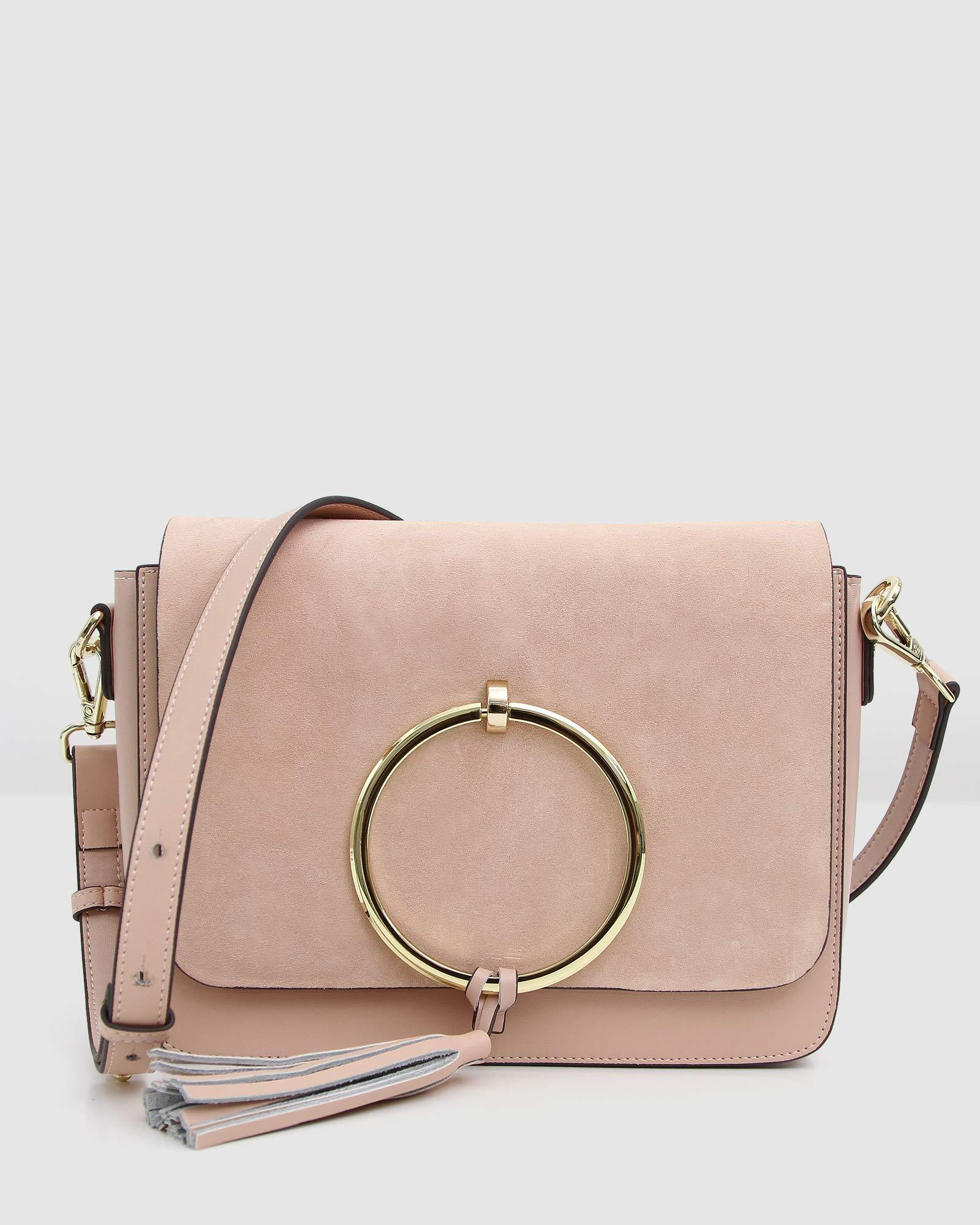 Sailor City Leather Cross-Body - Blush