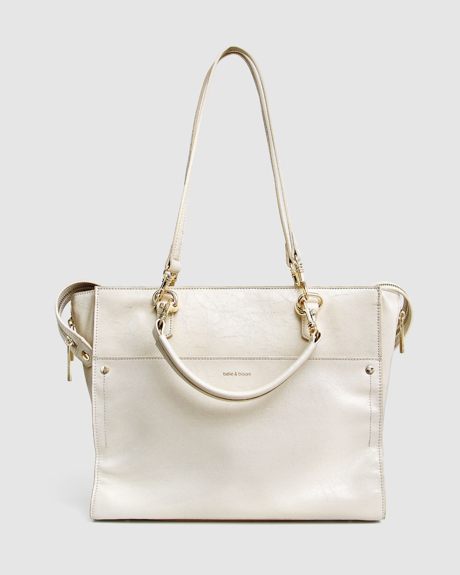 Queen's Day Leather Shoulder Bag - Vanilla