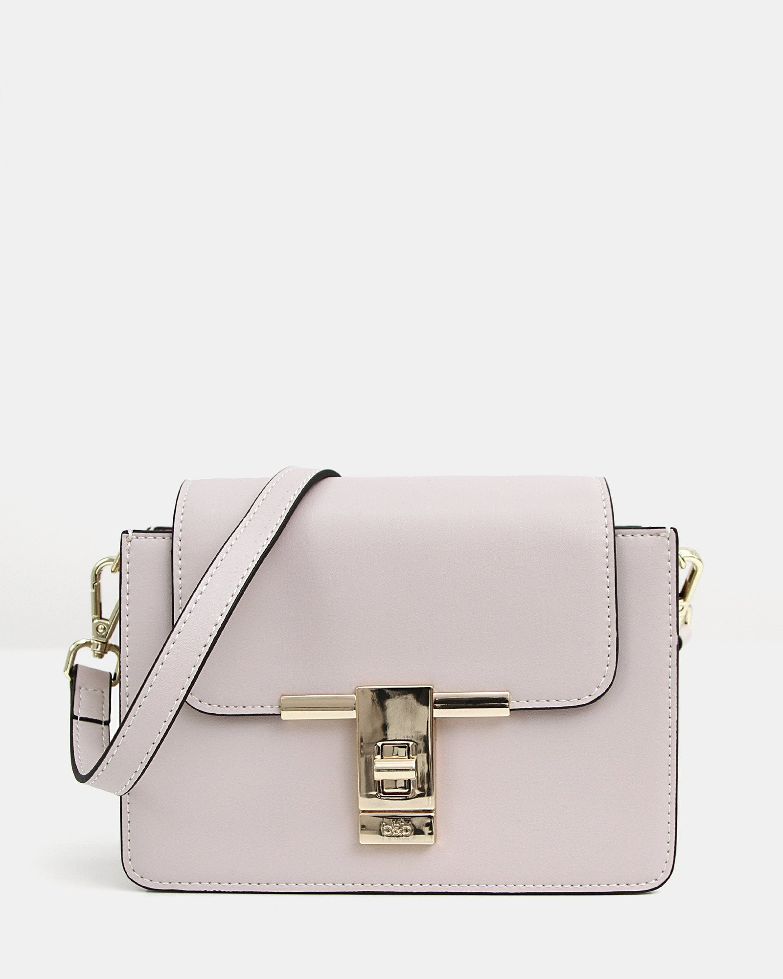 Seattle Night Leather Cross-Body - Cream