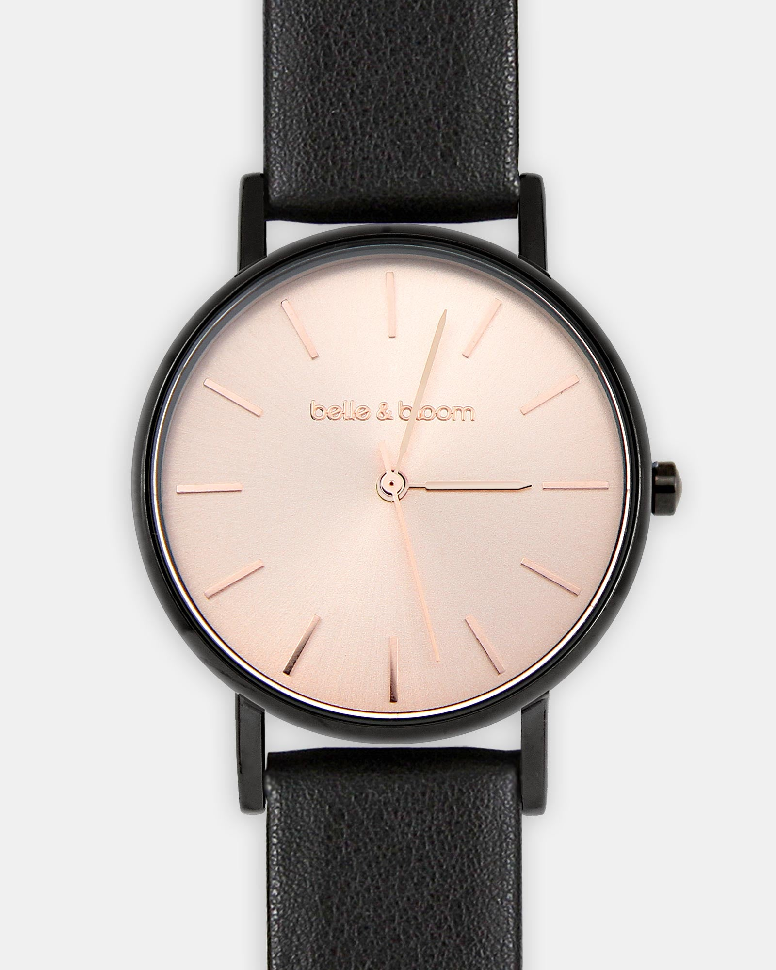 Lafayette Love Classic Watch - Black / Rose Gold