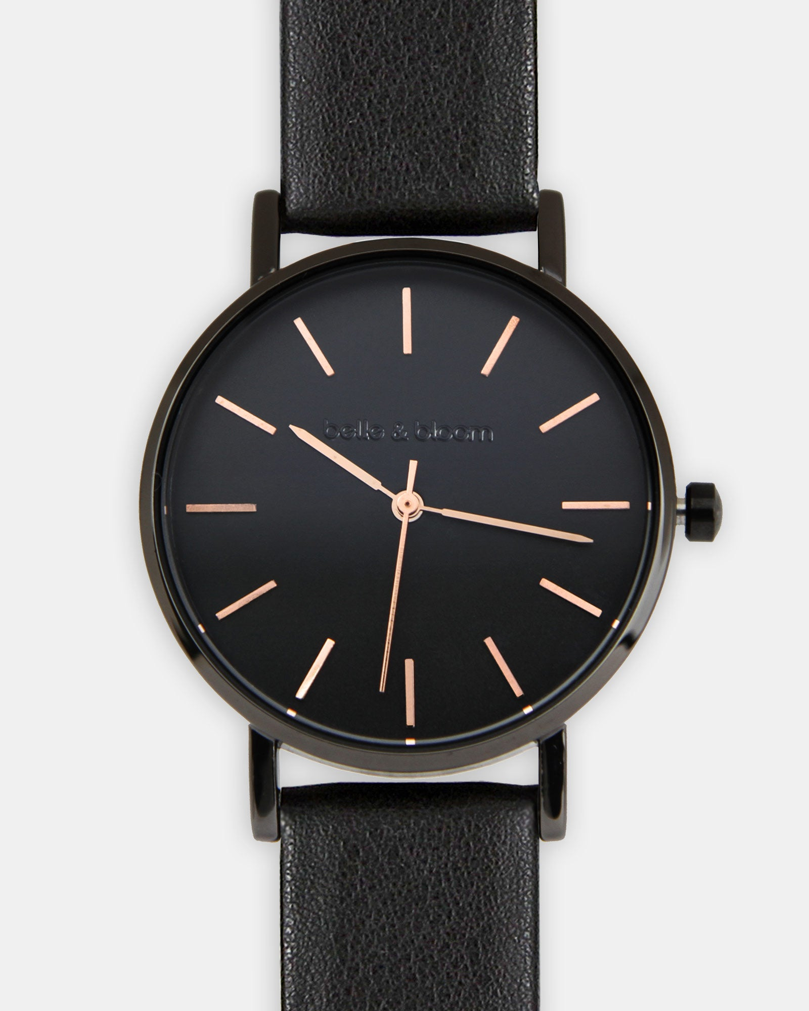 Lafayette Love Classic Watch - Black / Black