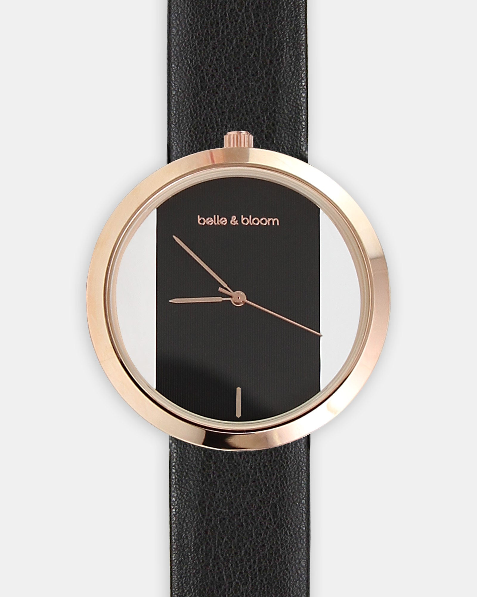 Barcelona Story Watch - Rose Gold / Black