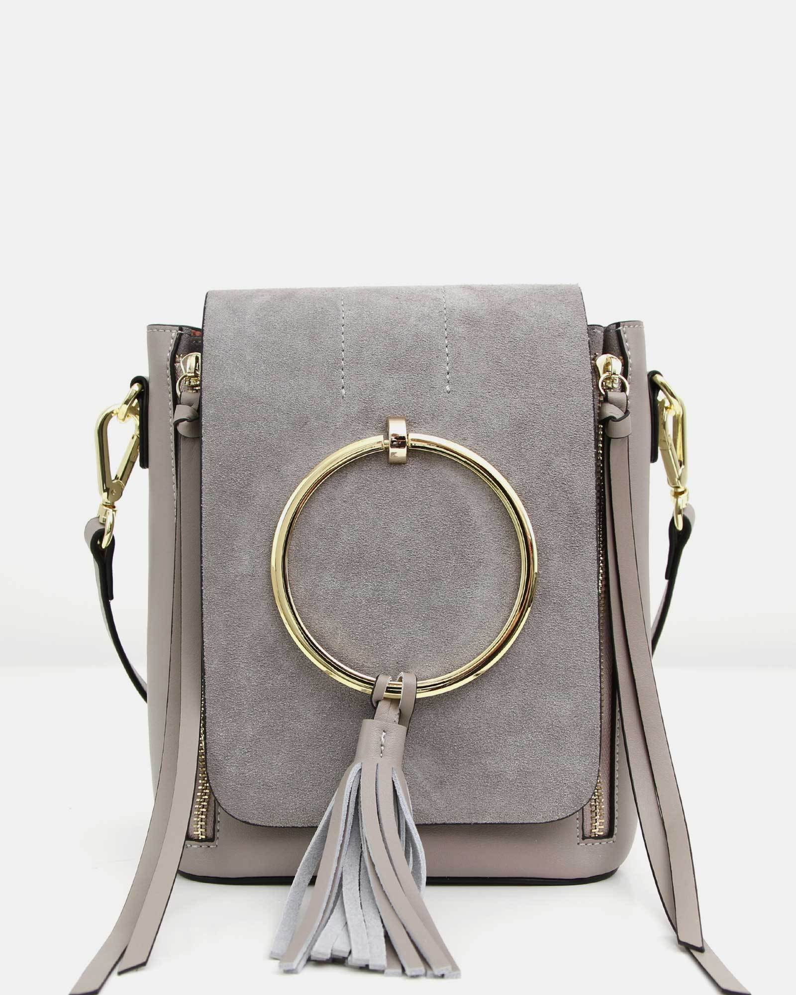 Brooke Exchange Leather Backpack - Grey