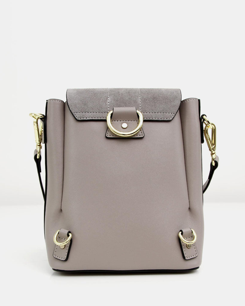 Brooke Exchange - Grey Leather Backpack