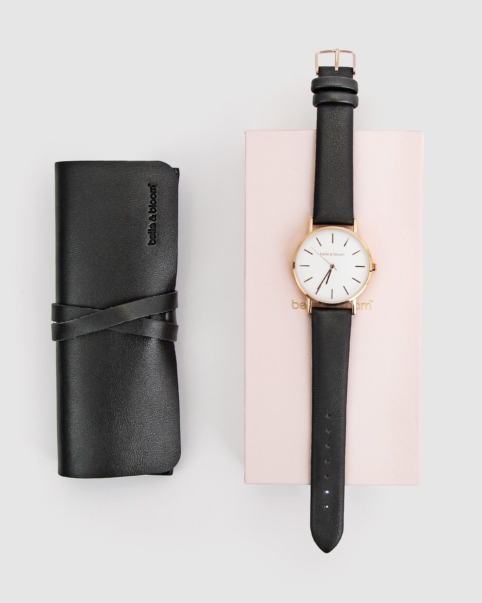 Lafayette Love Classic Watch - Rose Gold / Black