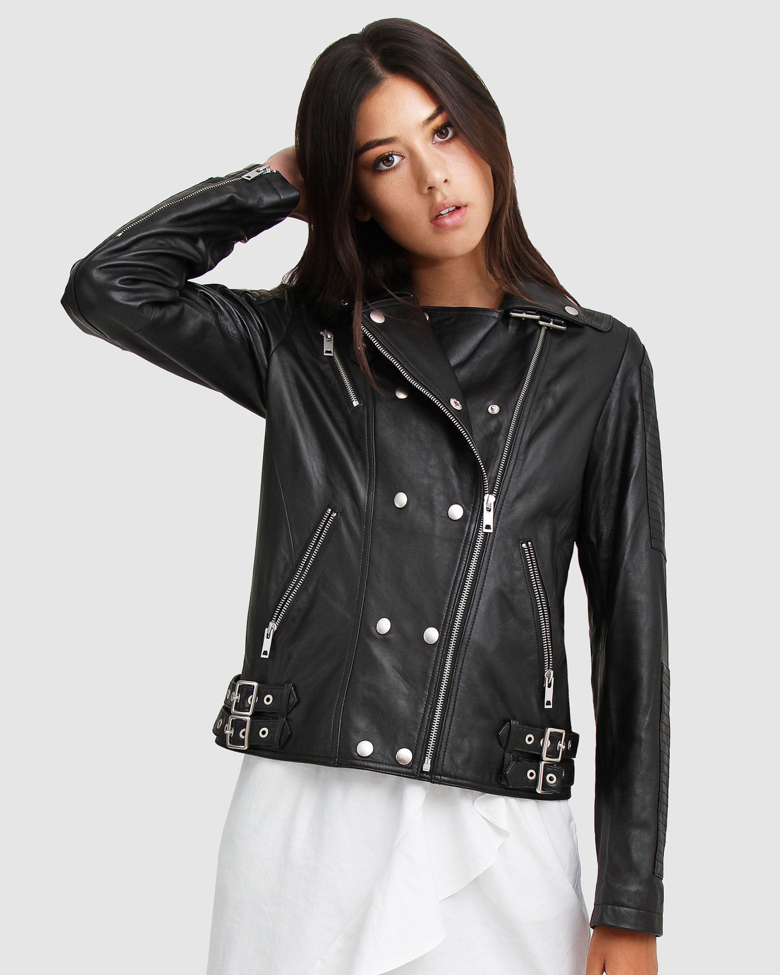 Bad Boy Leather Moto Jacket