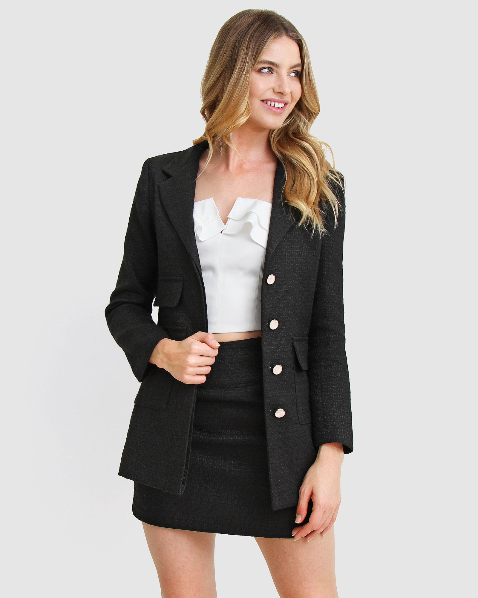 Paddington Fair Jacket - Black