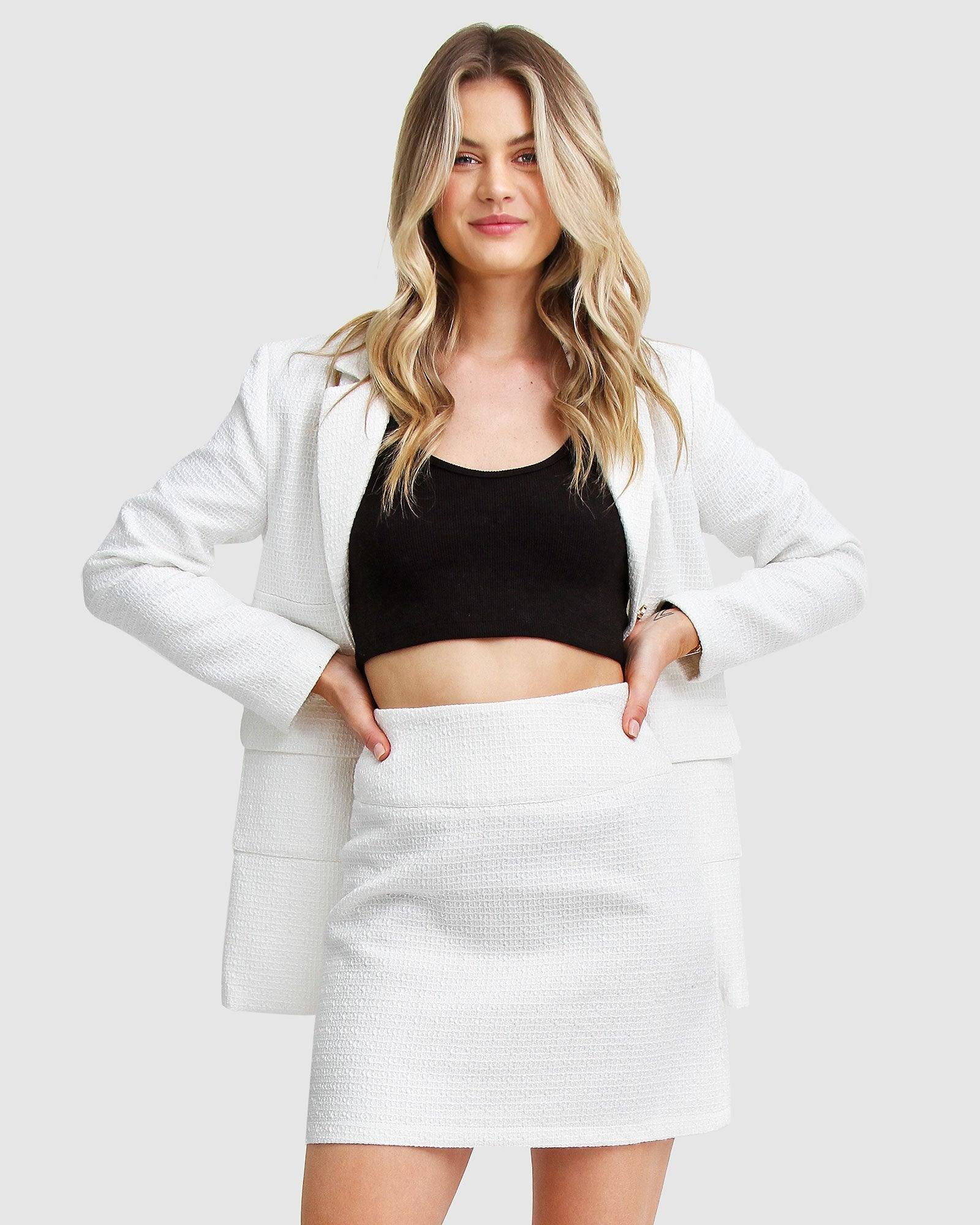 Paddington Fair Skirt - White