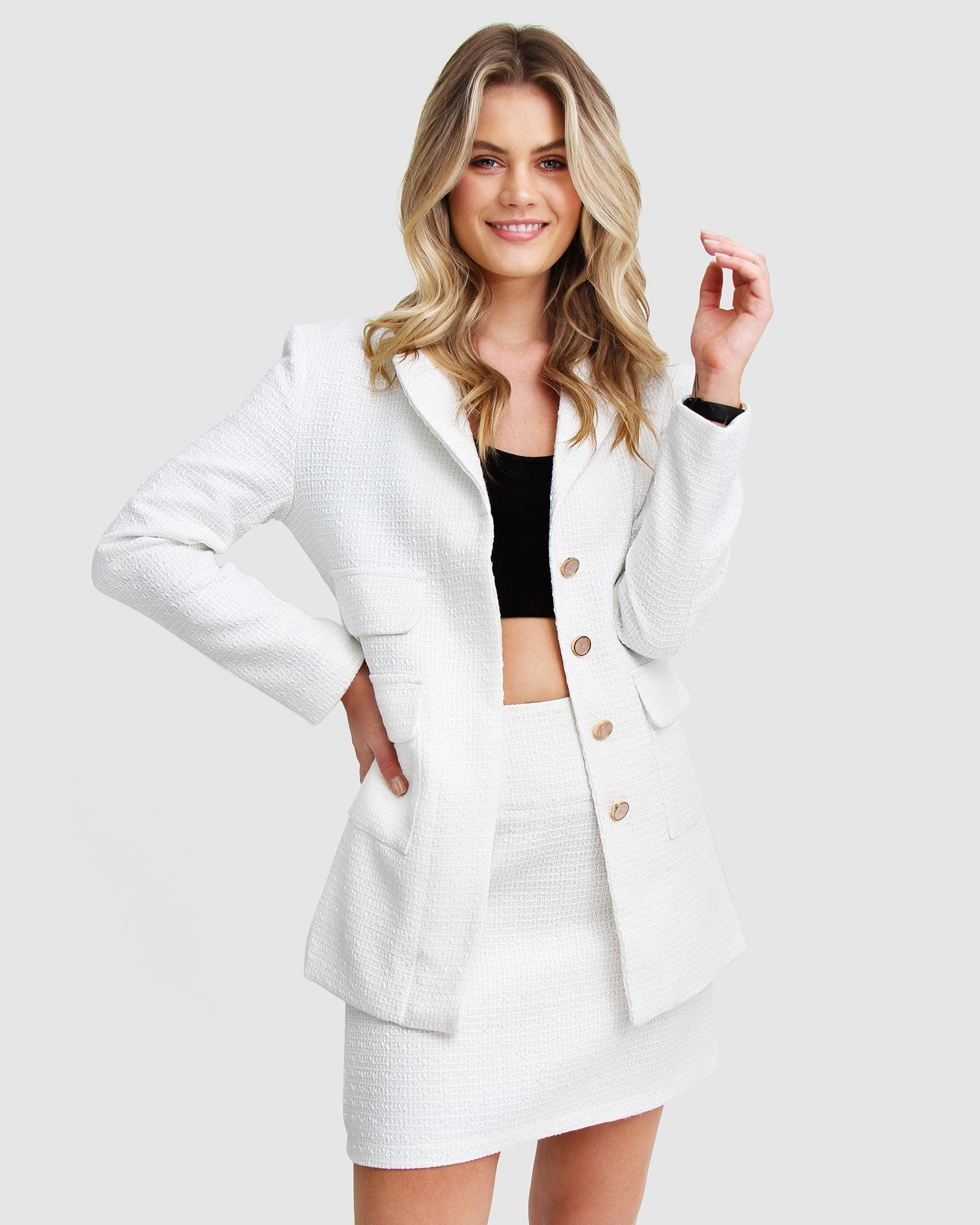 Paddington Fair Jacket - White