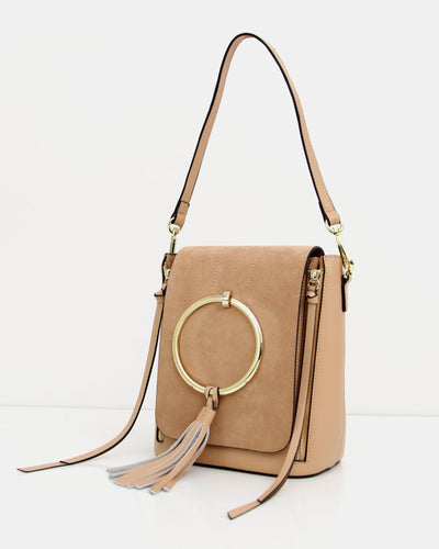 Brooke Exchange Leather Backpack - Tan