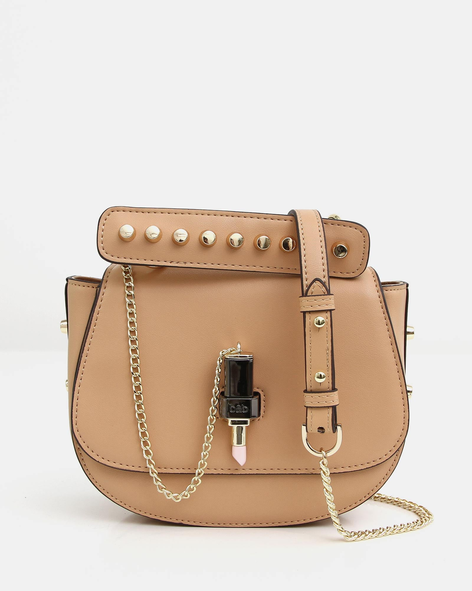 Moet Leather Cross-Body - Tan