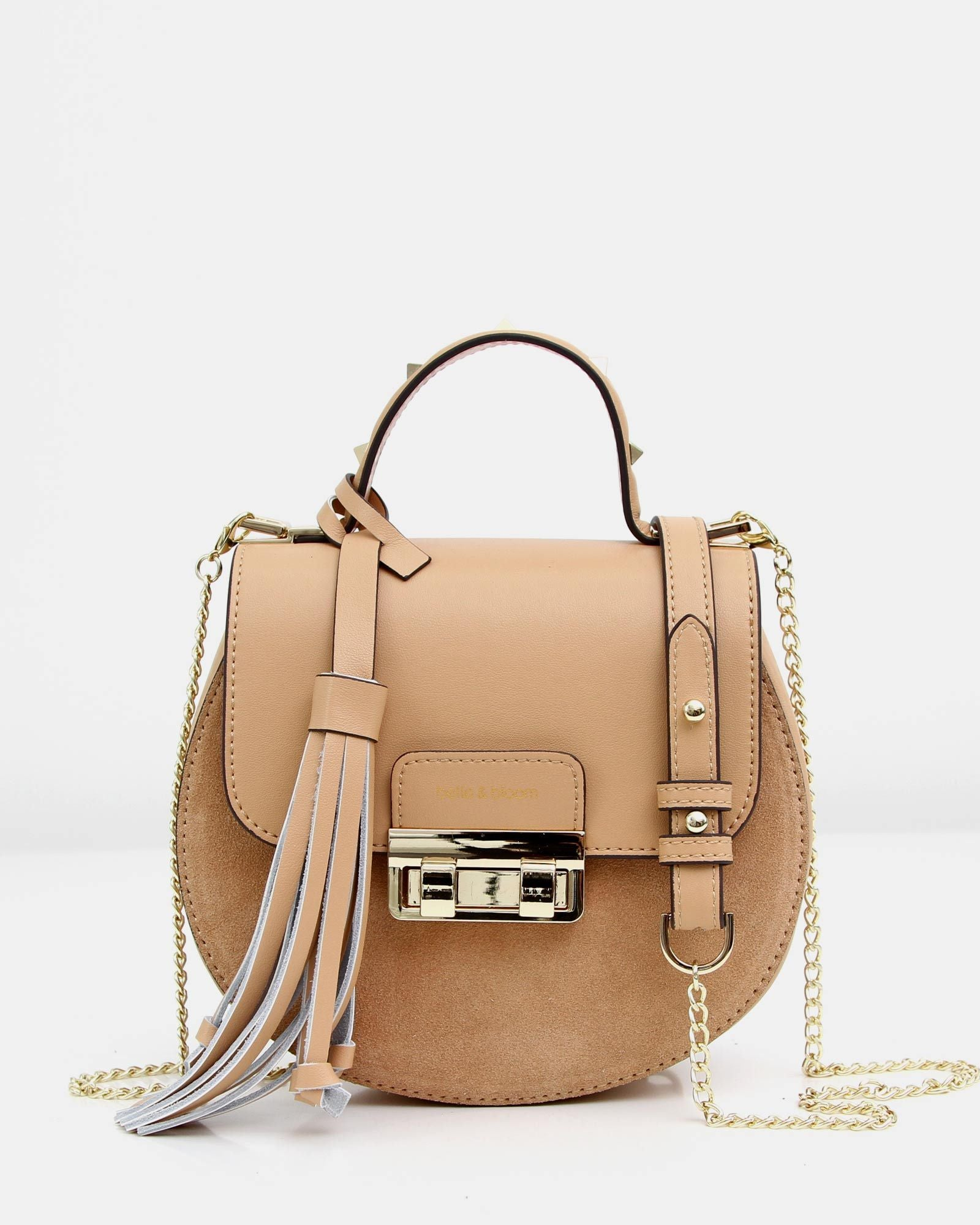 Belmore Exchange Leather Cross-Body - Tan