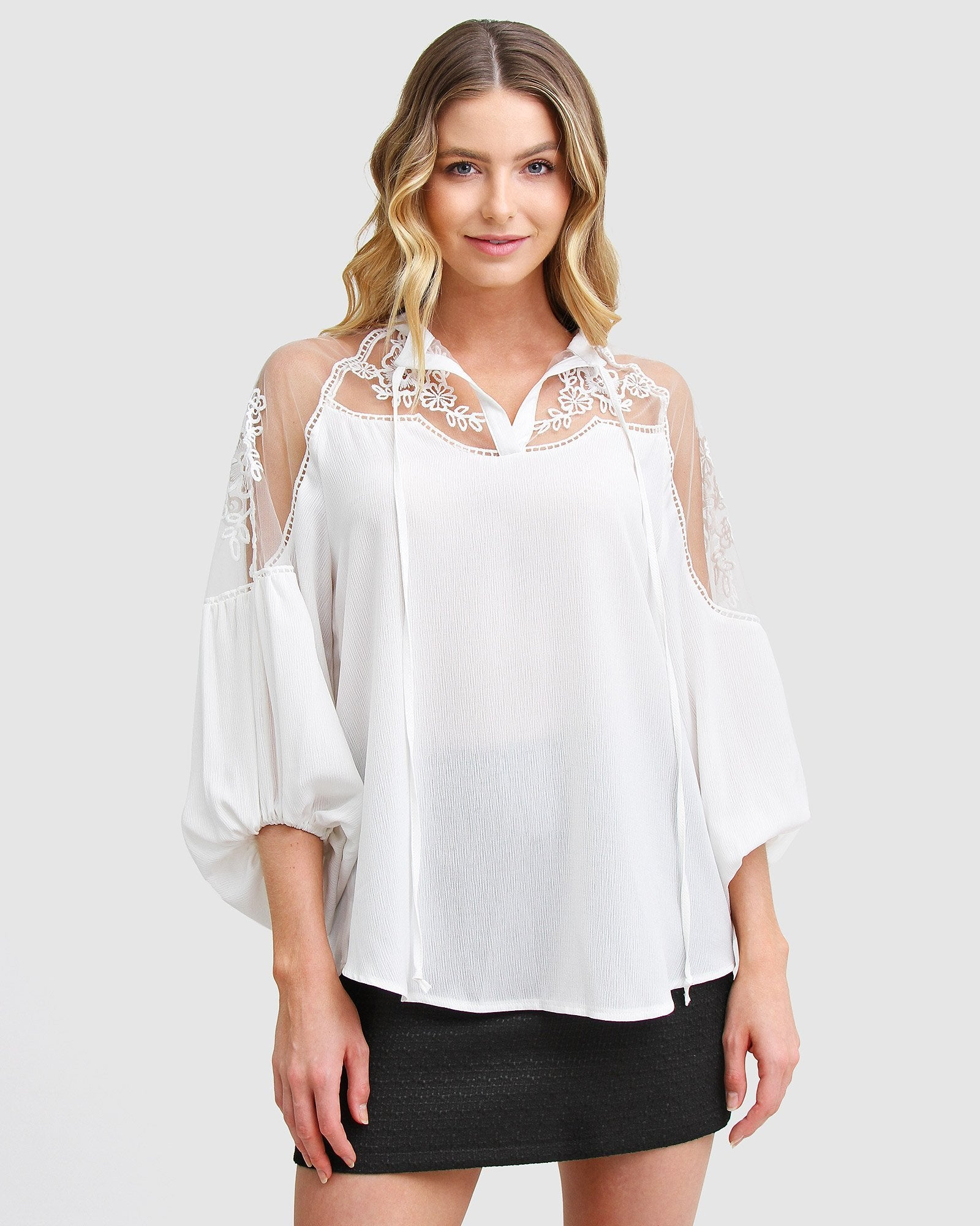 Bronte Afternoon Blouse  - White