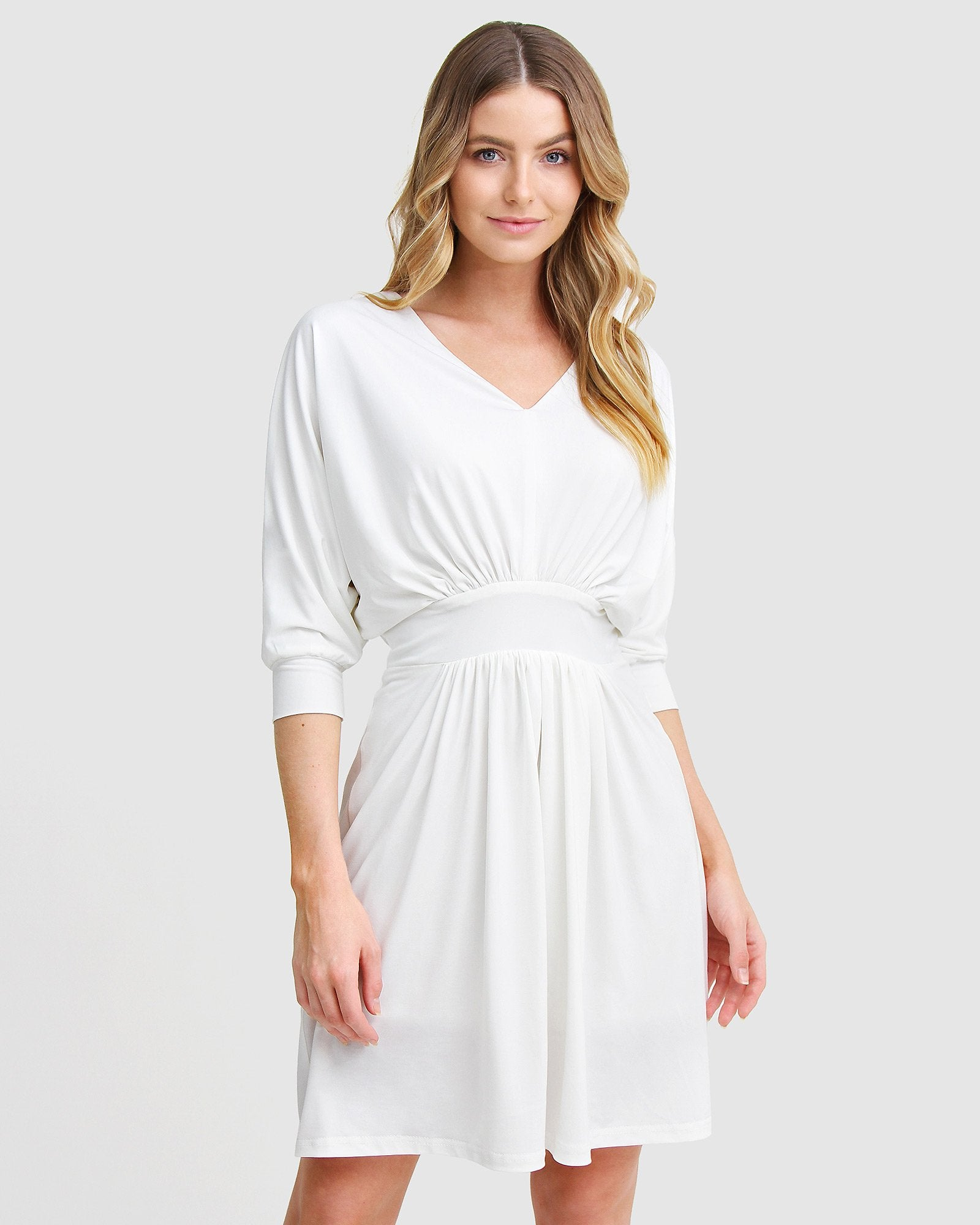 Morning Light Mini Dress - White