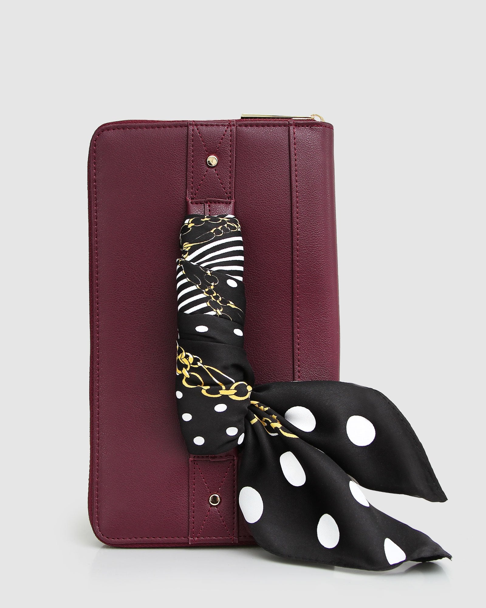 Wilona Travel Wallet - Wine