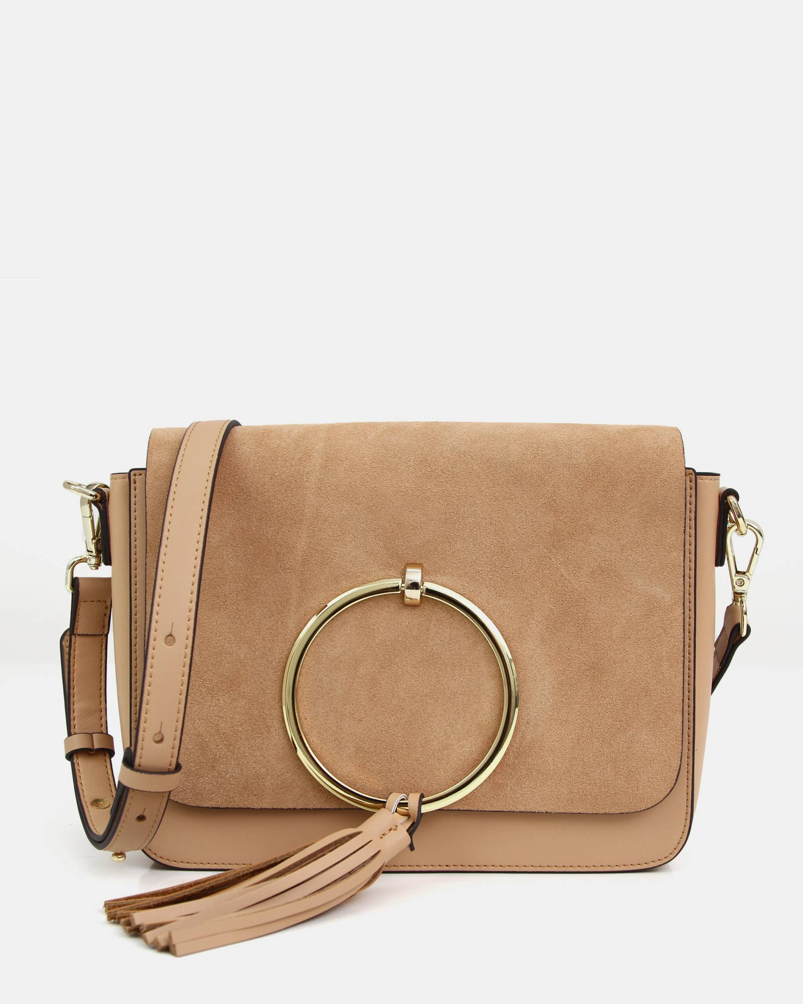 Sailor City Leather Cross-Body - Tan