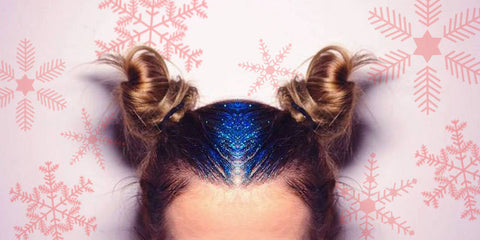 Glitter Roots for the Holidays - How to and Where to Buy