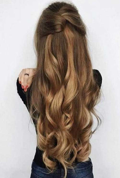 Quick and easy long hair