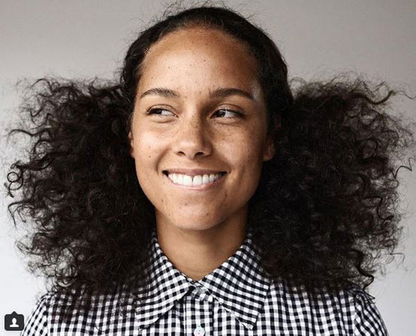 Alicia Keys No Makeup Movement