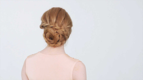 Get the perfect Braided Side Updo