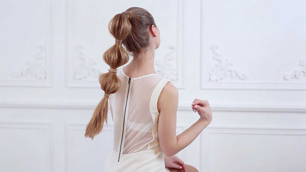 How to get a nice Bubble Ponytail