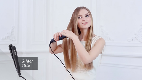 Get the Half and Half Look with a 220v Hair Straightener