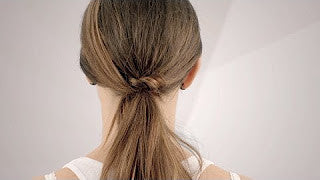 Easy Ponytail Wrap