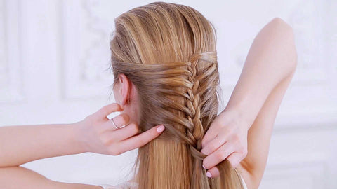 How to do a Fairytale Braid