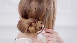 Get The Perfect Low Side Chignon