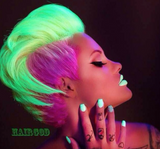Neon Hair Color - Perfect for Halloween!