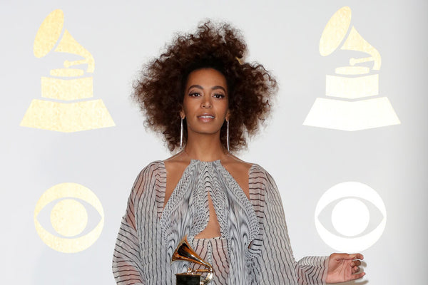 How To Get Solange's GRAMMY Hair