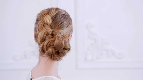 How to create a Tucked Braid Updo