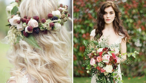 You'll NEED an Autumn Wedding After Seeing These Fall Bridal Hairstyles