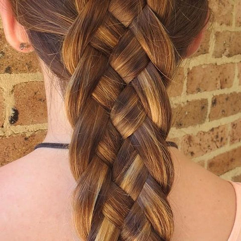 5-strand braid styles
