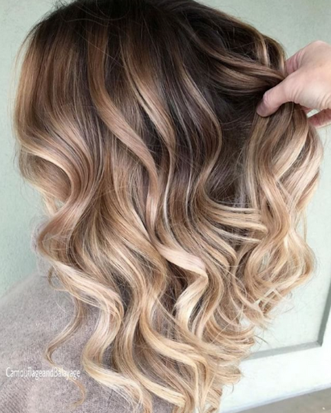HSI Professional Blonde Hair Tips