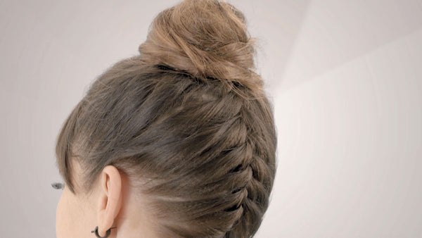 How To Do An Upside Down Braided Bun Hsi Professional