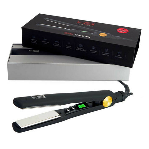 HSI PROFESSIONAL GLIDER ELITE - TITANIUM PROFESSIONAL FLAT IRON HAIR STRAIGHTENER