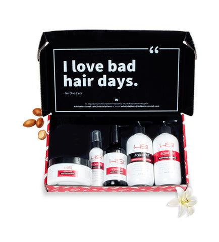 5-Part Argan Oil Hair Care System Subscription + FREE GIFT