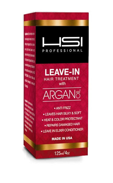 Hsi Professional Argan Oil Leave In Hair Treatment