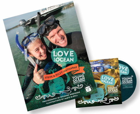 An awesome combo deal! Love Our Ocean Book & DVD