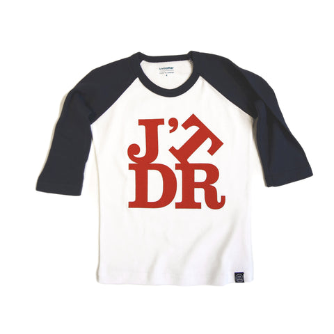 J'TDR Tee Blue and Red