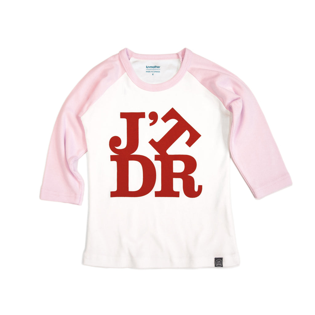 J'TDR Tee Pink and Red