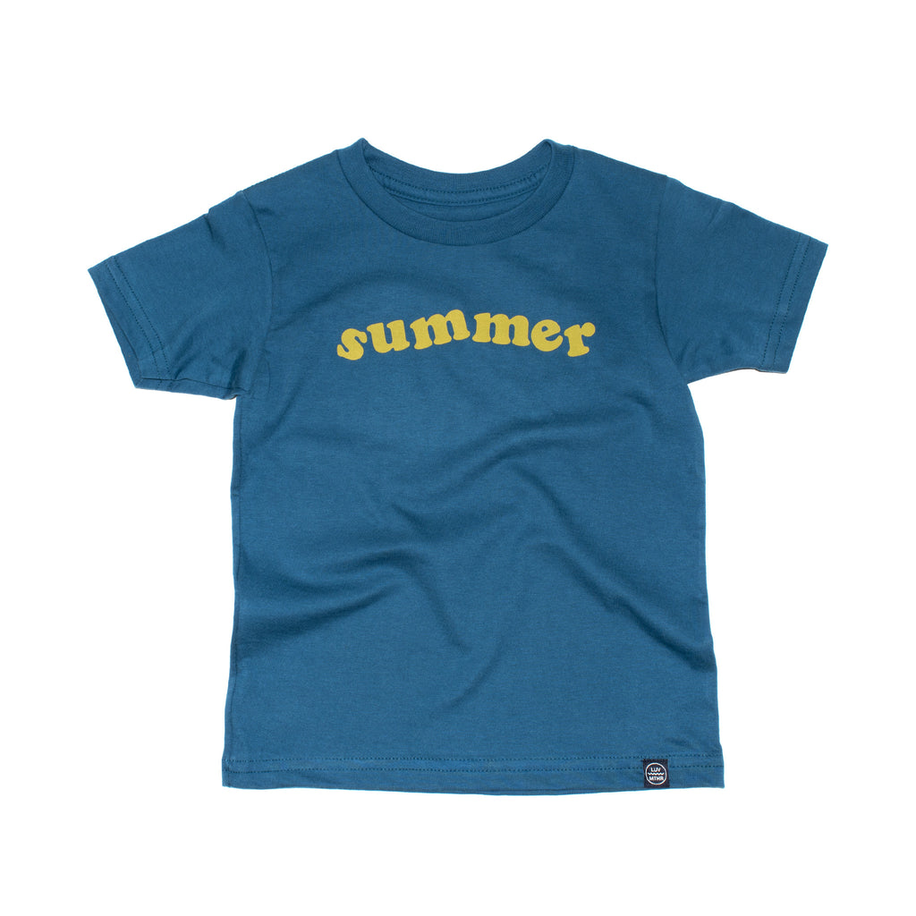 Summer - Organic Cotton Tee