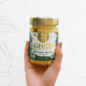 3 Surprising Health Benefits of Ghee and Why We Always Use Grass-fed Dairy
