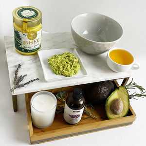 Nourishing Avocado & Ghee Hair Mask