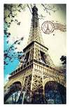 Eiffel Tower 1000 pieces Plastic Jigsaw Puzzle