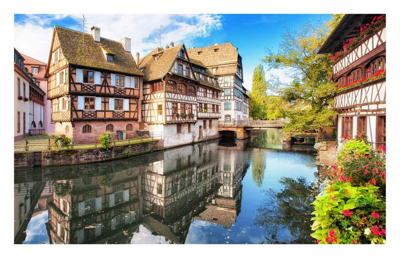 Strasbourg, Petite France 1000 pieces Jigsaw Puzzle Pintoo