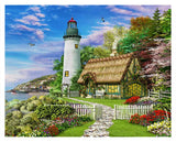 Dominic Davison - The Old Cottage Plastic Jigsaw Puzzle (Pintoo)